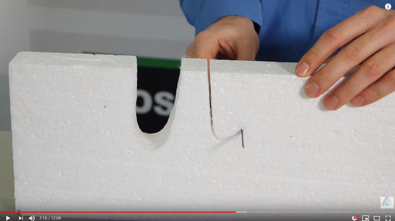 nóż do styropianu termiczny