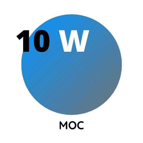 10W-moc