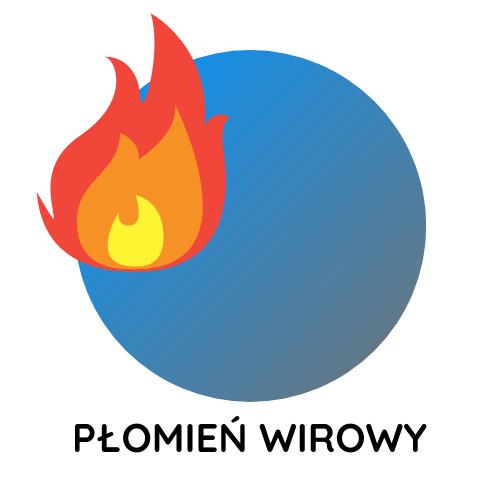 płomień-wirowy